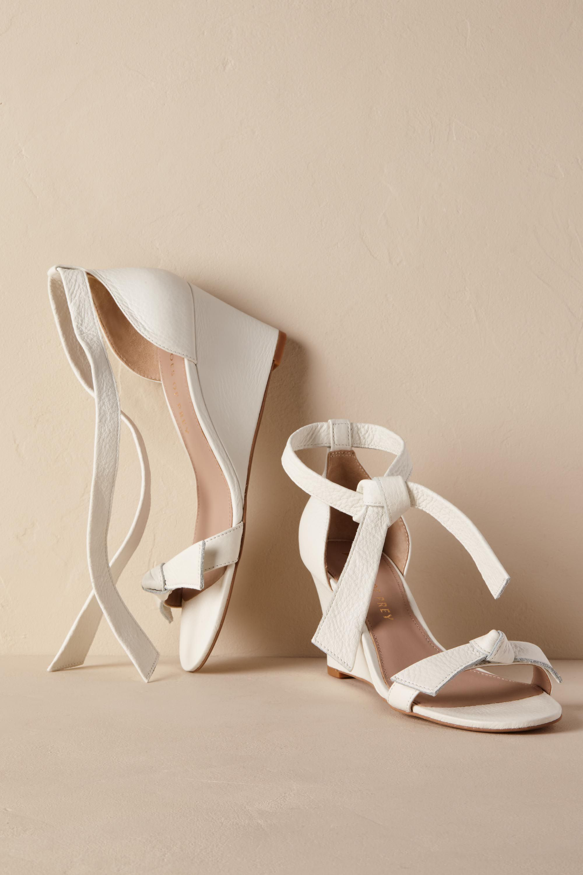ac1d88c4c0db Mariposa Wedge Heels from  BHLDN