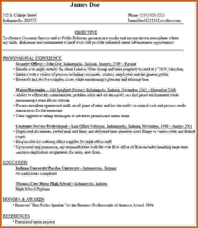 20 Of the Best Ideas for How to Make A College Resume ...