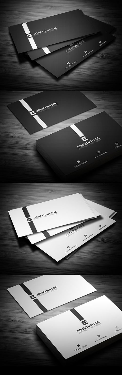 Another Beautiful and Inspiring Business Card. Discover More Cool ...
