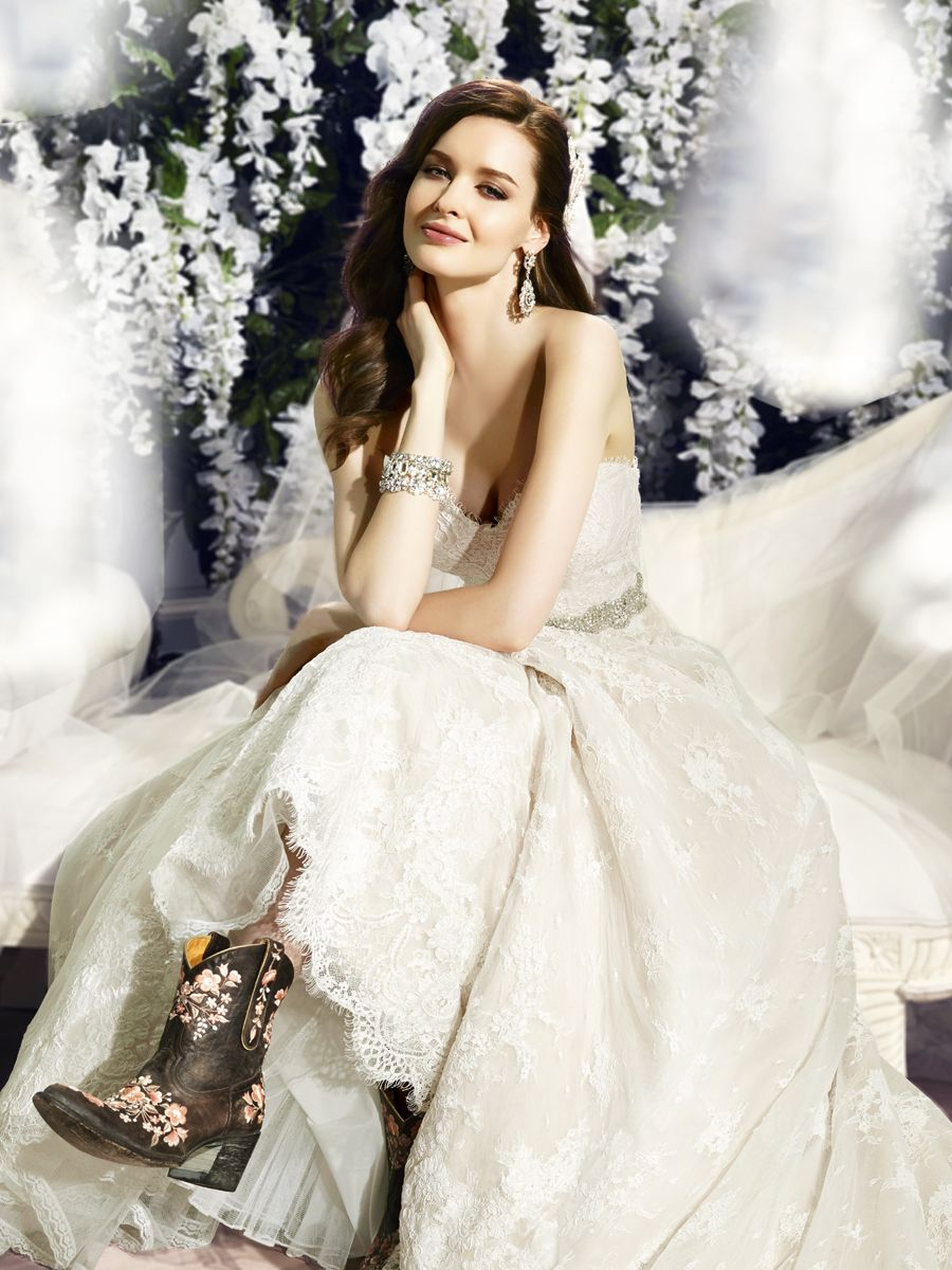 Country wedding dress full aline silhouette wedding dresses