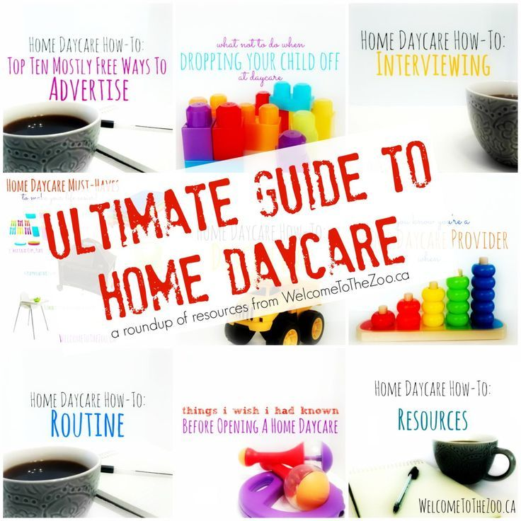 awesome The Ultimate Guide To Home Daycare … | In Home Child Care ...