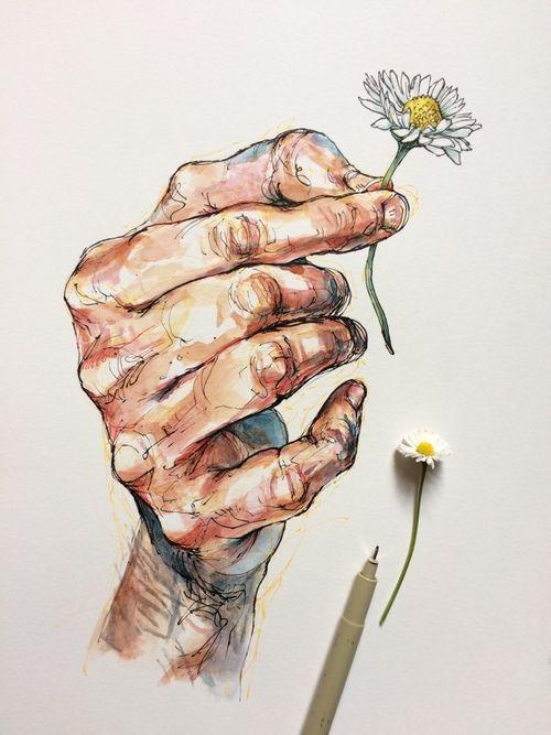 Flowers Art And Drawing Art Art Art Drawings Drawings