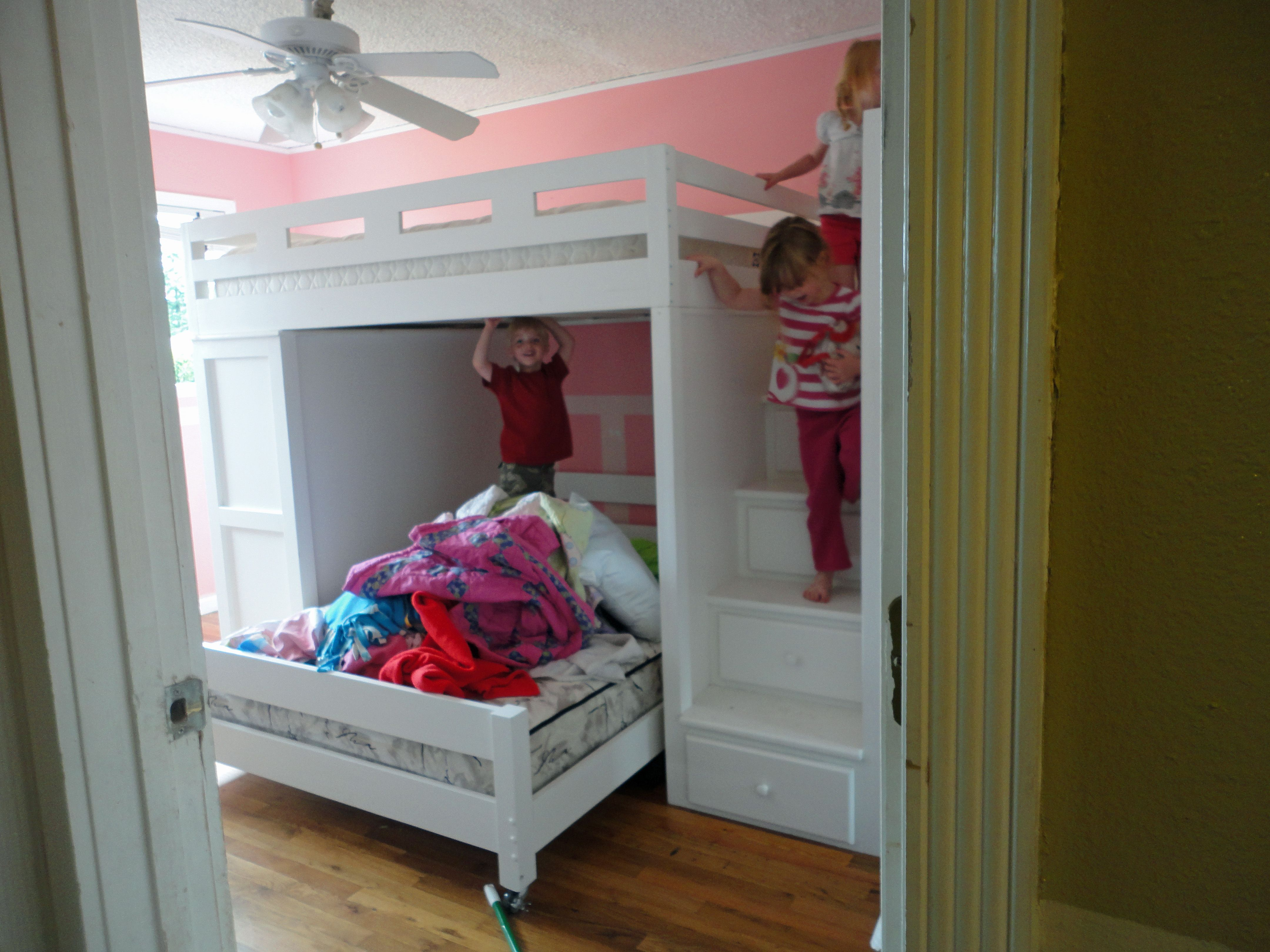 new bunk beds and new ink childrens bedroom decor diy on wonderful ideas of bunk beds for your kids bedroom id=34684