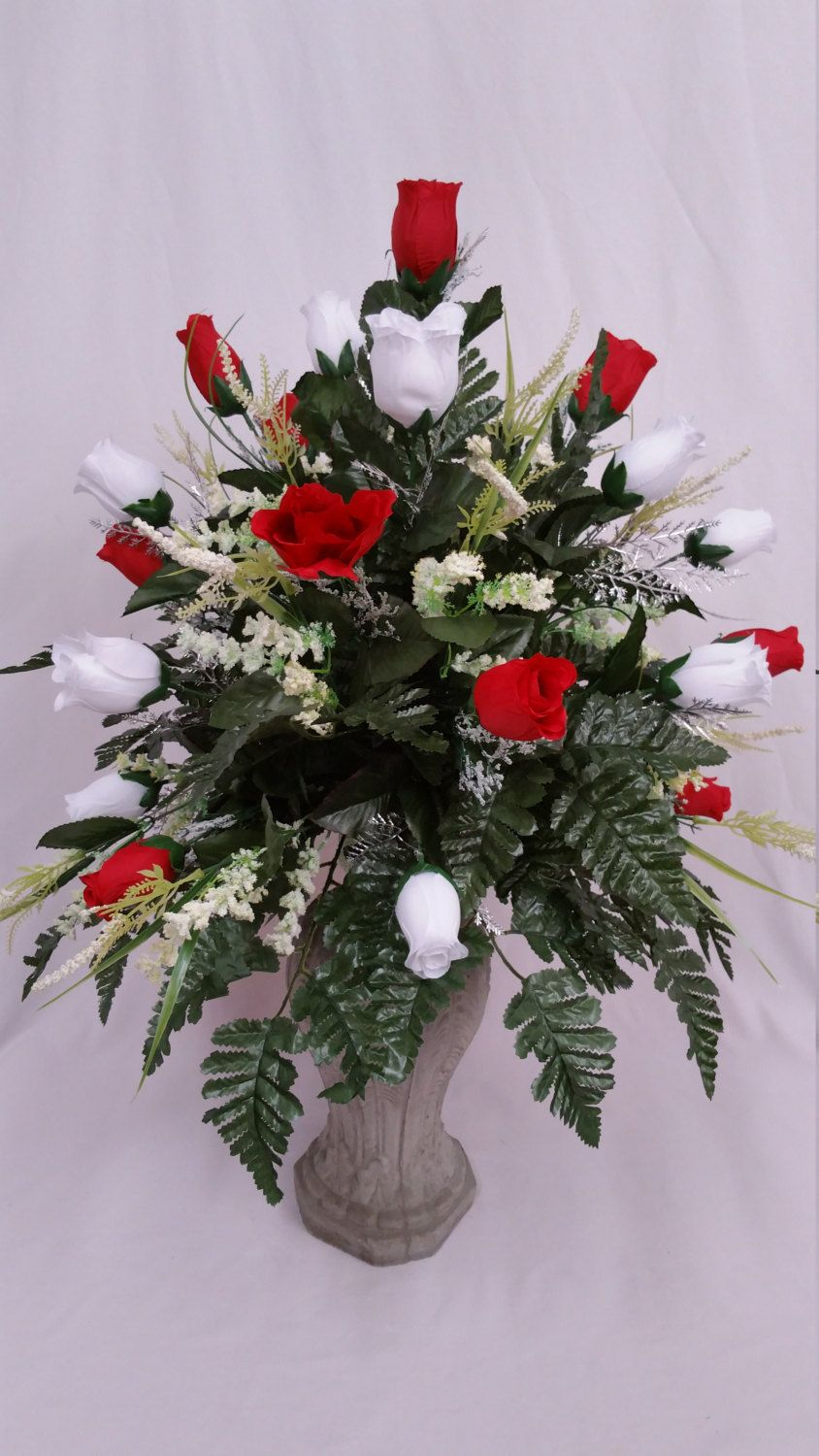 Pin By Syble Wright On Cemetery Vase Pinterest Rose Buds