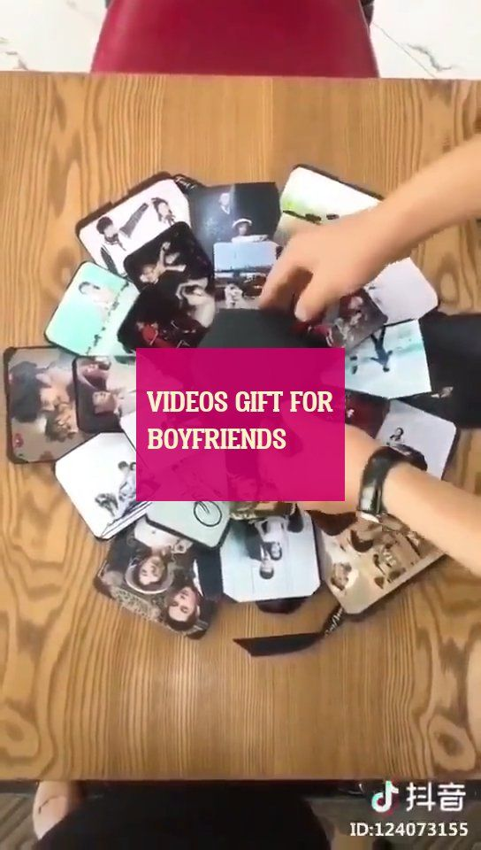 Videos gift for boyfriends