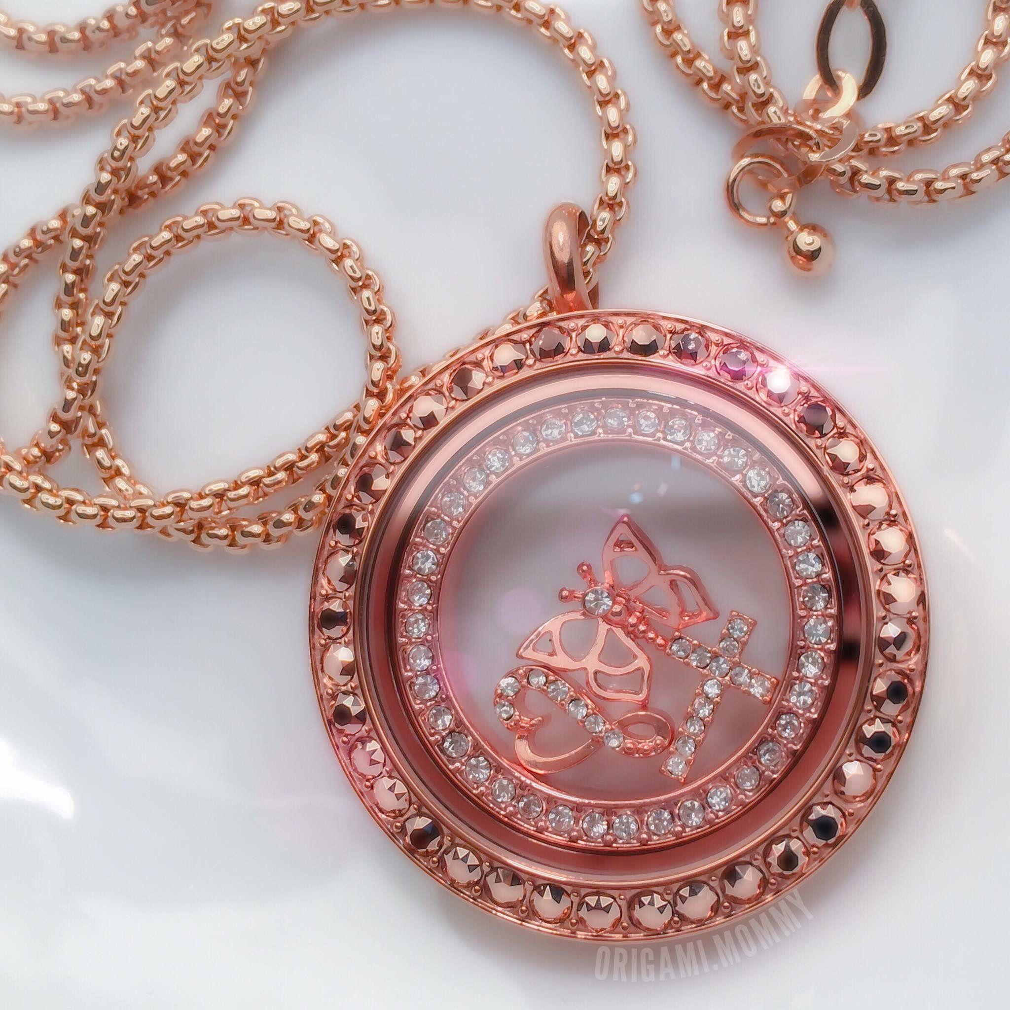 Origami Owl Jewelry   Rose Gold Living Locket Bar Necklace   Poshmark   2048x2048