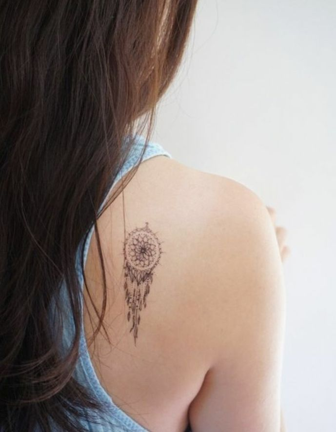 1001 Idees De Tatouage Attrape Reve Symbolique Tattoo