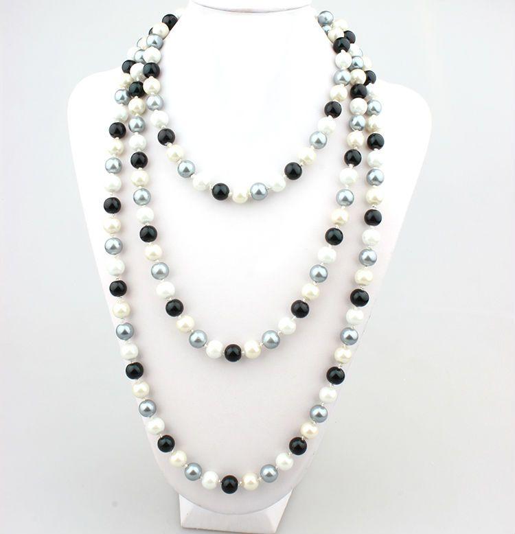 ef4d40d1e094 como hacer collares elegantes y faciles - Buscar con Google Collares  Largos
