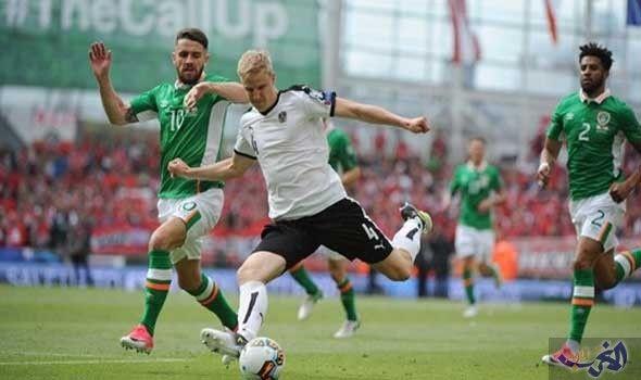 إيرلندا تواصل نزيف النقاط بتعادل مع النمسا في تصفيات كأس العالم