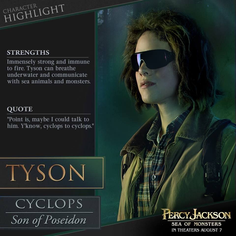 Percy Jackson: Sea of Monsters: Tyson joins the Compendium ...