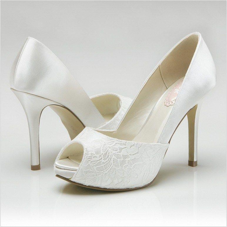 Lace Ivory Wedding Shoes Home Decoration Ideas Wedding Shoes Dyeable Wedding Shoes Bridal Shoes