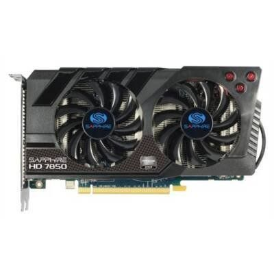 Sapphire 11200 07 20g Radeon Hd 7850 2g Ddr5 256b Pcie 2xminidp Hdmi Dvi Oc Video Card By Sapphire Technology 214 57 Te Carte Graphique Informatique Pilotes