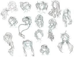anime hair - Google Search