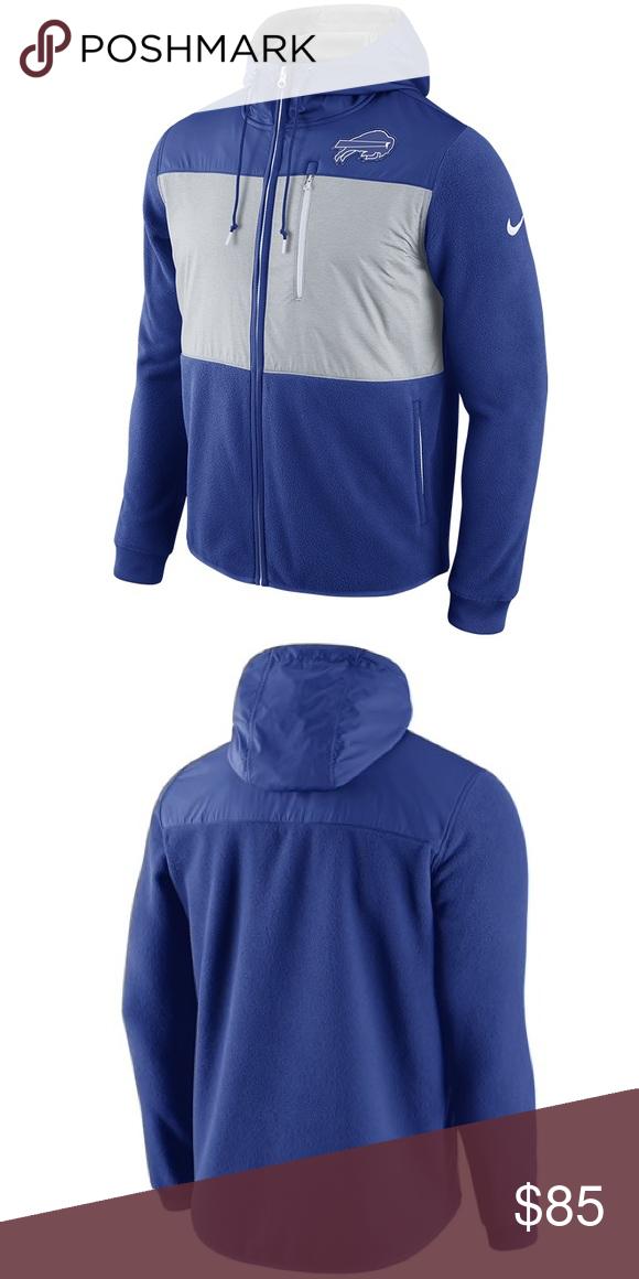 online retailer 3e7ad 19377 Buffalo Bills Nike Champ Full Zip Hoodie Jacket Buffalo ...