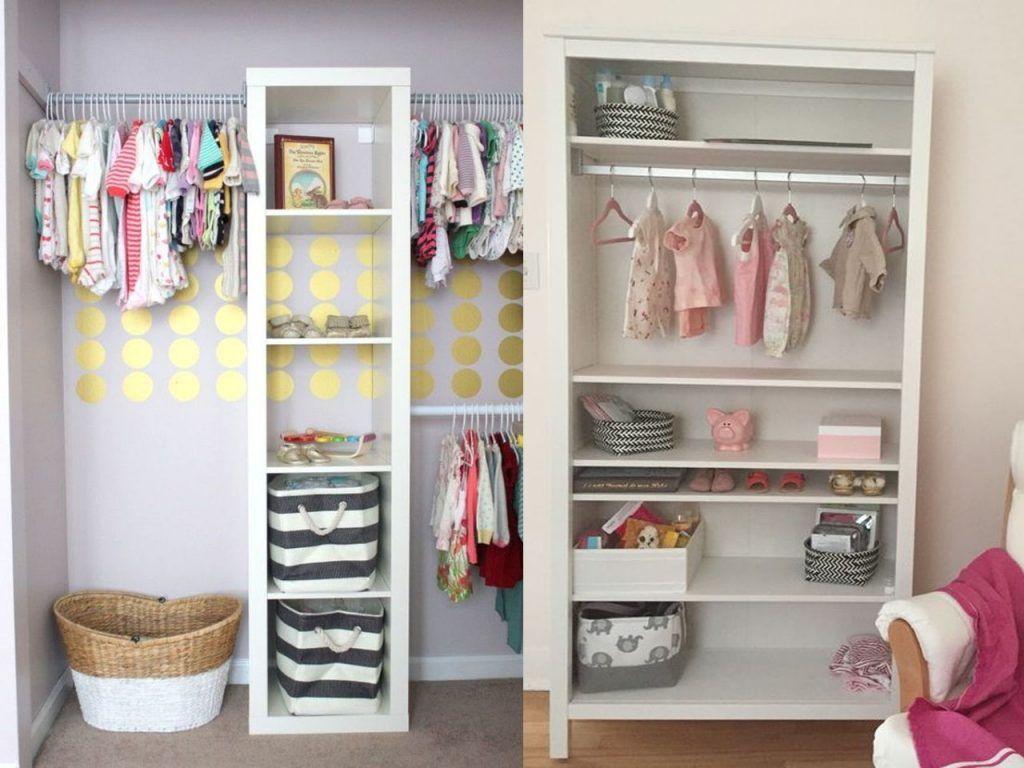 10 fant sticos usos para estanter as habitaciones infantiles bebe estanter a armario y - Armarios para bebe ...
