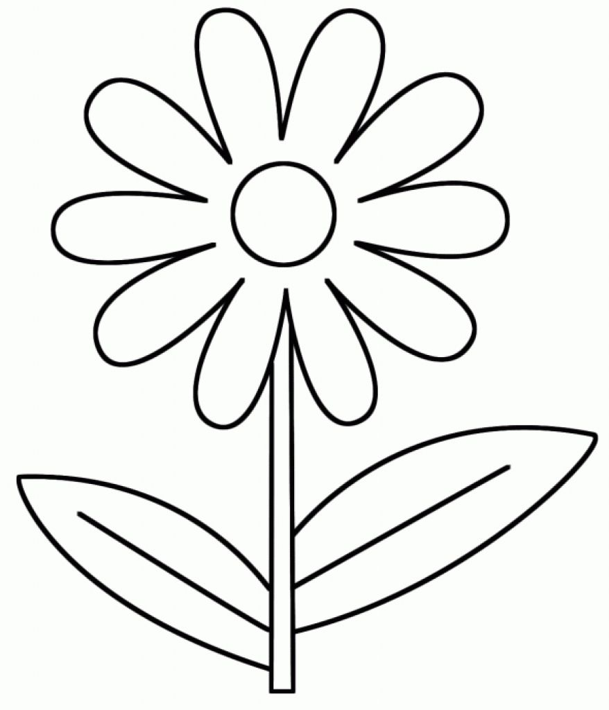 Spring Coloring Pages For 3 Year Olds Collection