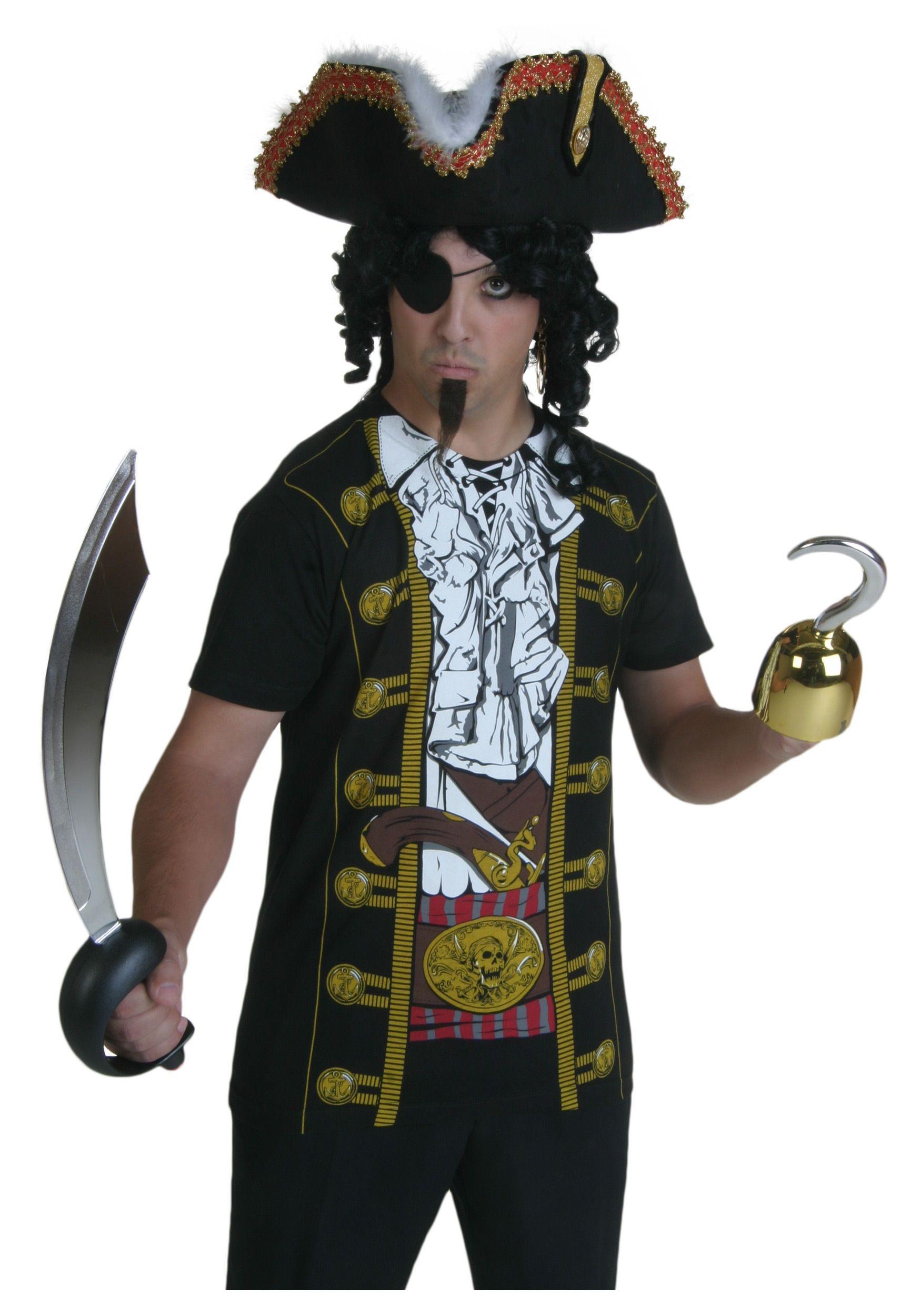Mens Pirate Costume T-Shirt | Mens Halloween Costumes | Pinterest ...
