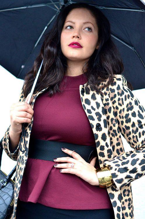 3b7a0b1866fbb Rainy Day Dressing. Big Girl FashionCurvy FashionPlus Size ...
