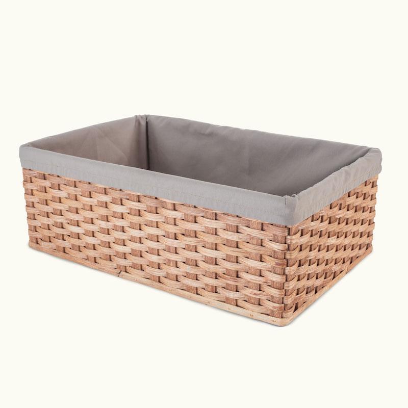 Rectangular Wicker Baskets Custom
