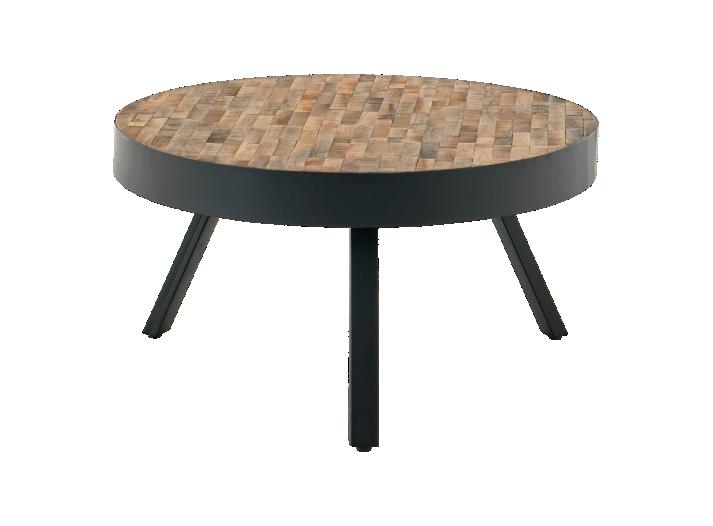 table basse ronde bois metal noir table basse dappoint salon with table basse gigogne fly. Black Bedroom Furniture Sets. Home Design Ideas
