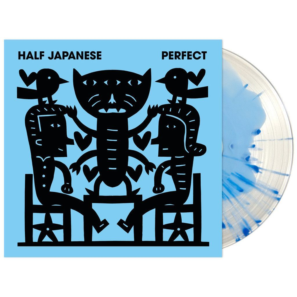 Half Japanese - Perfect [Very Limited Clear with Cyan Splatter Vinyl]