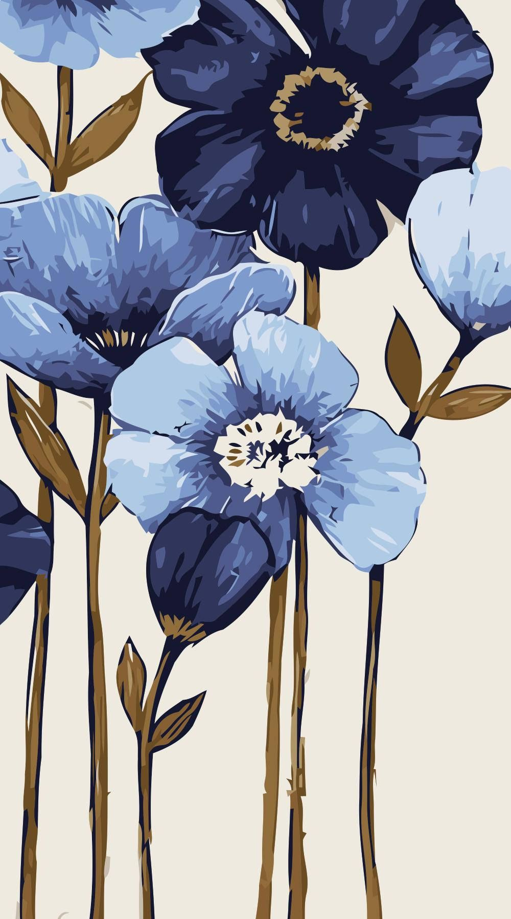Coloring By Number Kit 40 80cm Diy Painting Flower Painting Picture On Canvas Paint Coloring By Number Diy Painti Coloring Canvas Canvas Painting Diy Painting