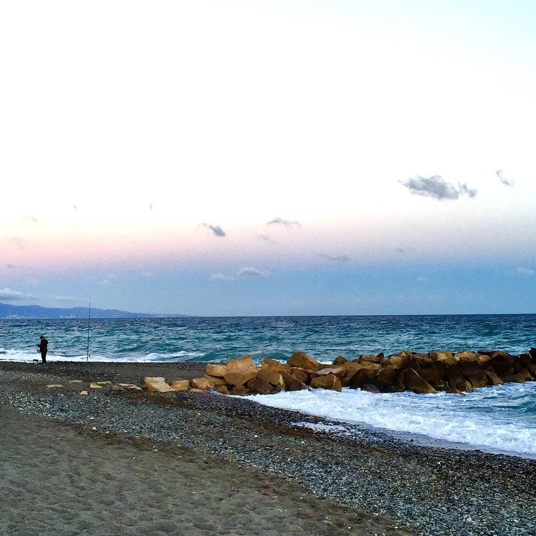Atardecer Playa Mar Malaga Marbella Guadalmina
