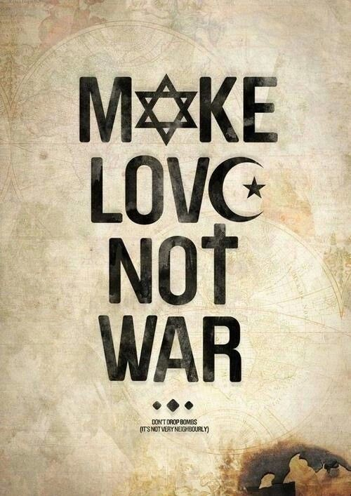 Make Love Not War Words Peace And Love Peace