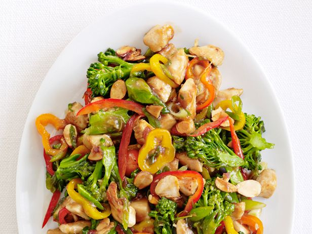 Chicken And Broccolini Stir Fry Recipe Healthy Meals Pinterest