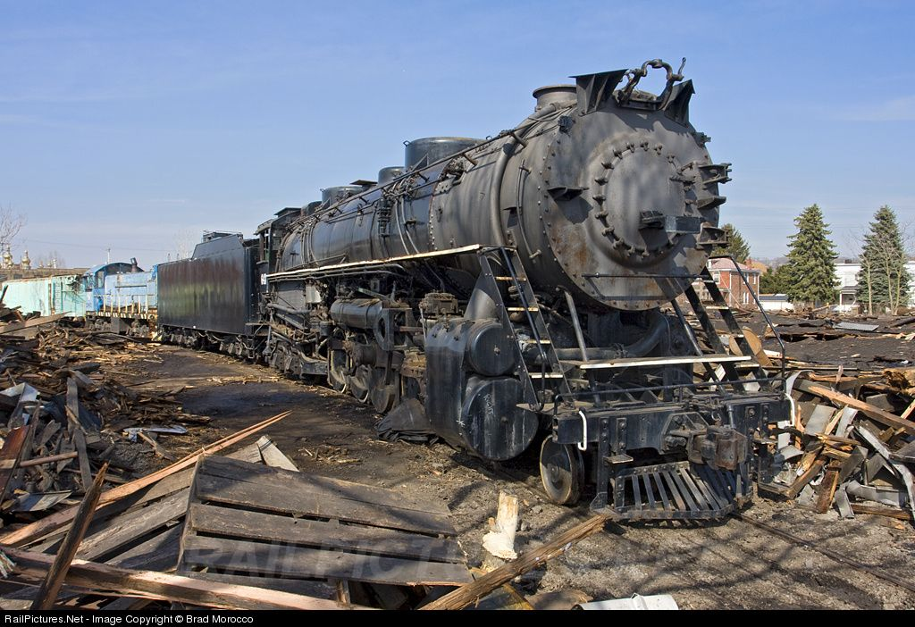 Ble 643 Bessemer Lake Erie Railroad Steam 2 10 4 At Pittsburgh Pennsylvania By Brad Morocco Old Trains Train Steam Trains