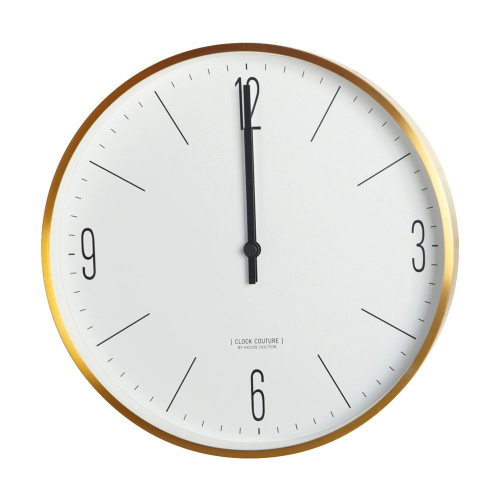 Couture Wall Clock 30 Cm House Doctor Vaggklocka Vaggspegel House