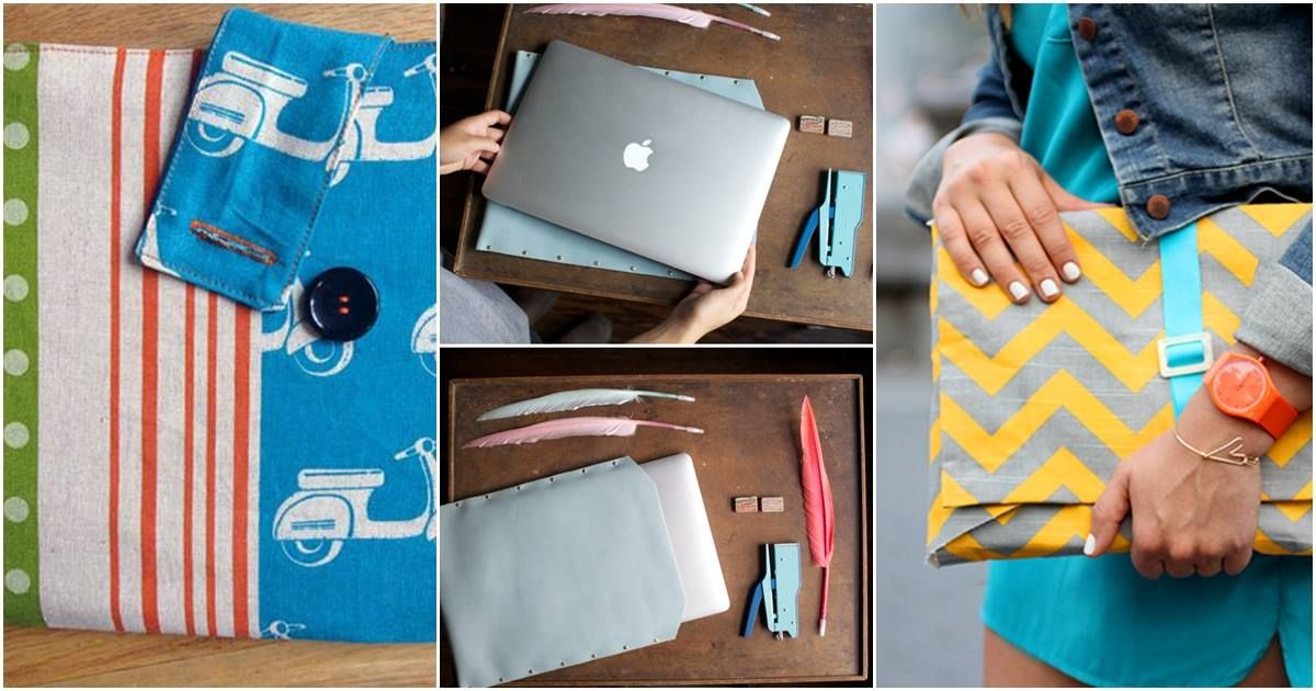 30 stylish laptop sleeves that you can easily diy doityourself 30 stylish laptop sleeves that you can easily diy doityourself gadget bedrooms solutioingenieria Images