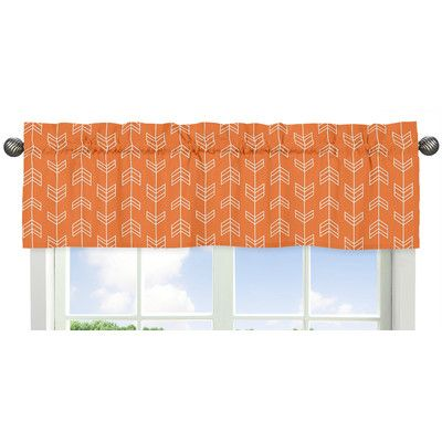 Sweet Jojo Designs Arrow Print Curtain Valance
