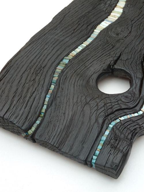 burned wood furniture google 39 da ara wood pinterest mosaik holz und treibholz. Black Bedroom Furniture Sets. Home Design Ideas