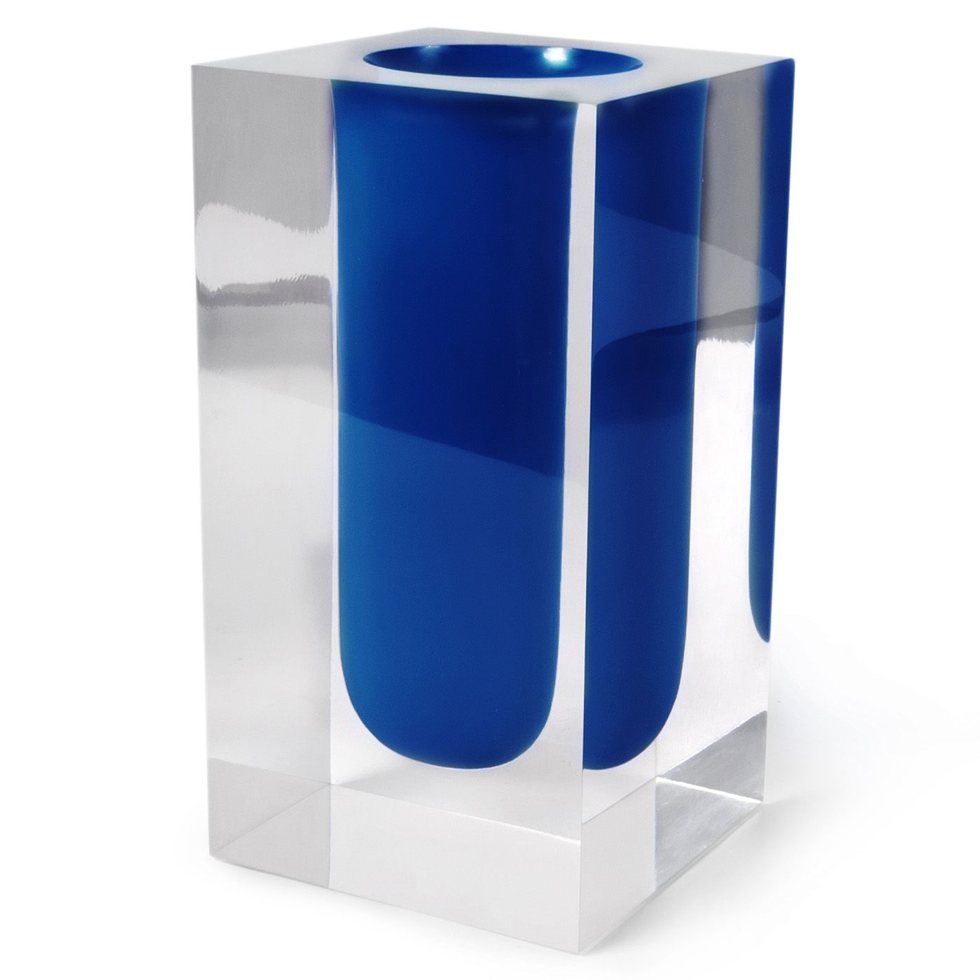 An Organic Form In Color Suspended Acrylic Cube A Surreal Take On Glam Décor Finished By Hand And Perfect For Bold