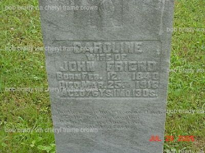 Caroline Boggs Friend 1840 1918 Find A Grave Photos Find A