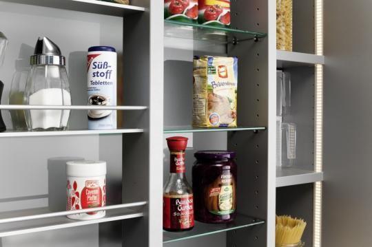 Armario despensa de cocina con puertas correderas y - Armarios para despensa ...