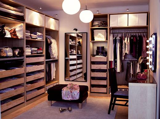 Dise o de vestidores modernos dise o de vestidores for Closet modernos para hombres