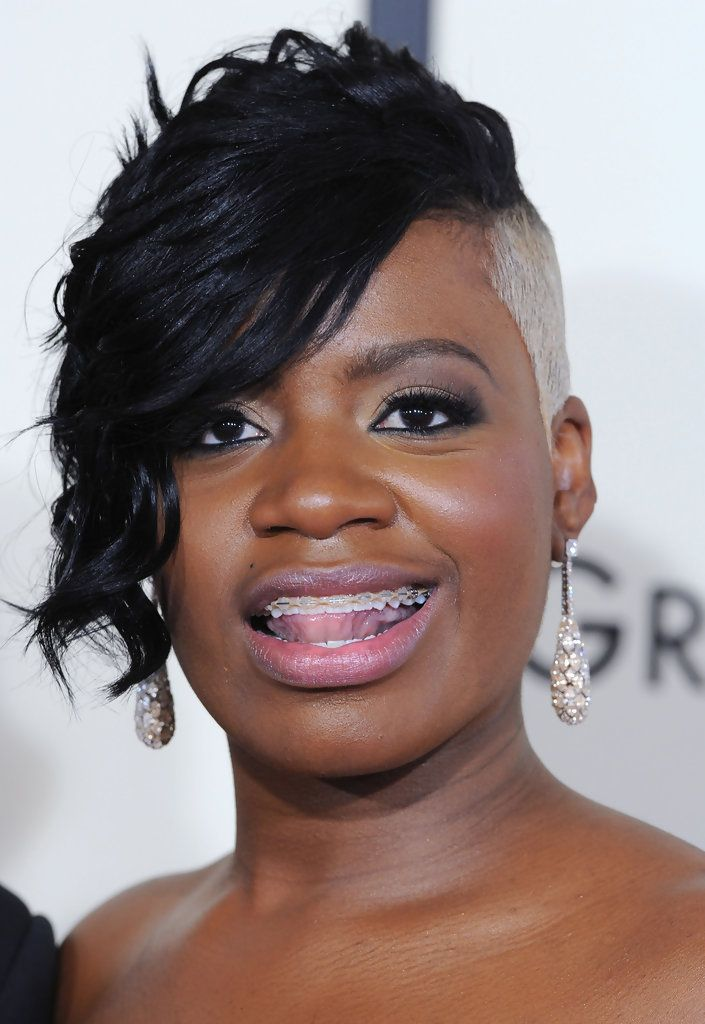 Fantasia Hairstyles fantasia barrino side fade with side bangs hairstyles Fantasia Hairstyles Fantasia Barrino Boy Cut