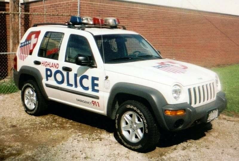 Highland (IL) Police Jeep Liberty Police cars, Emergency
