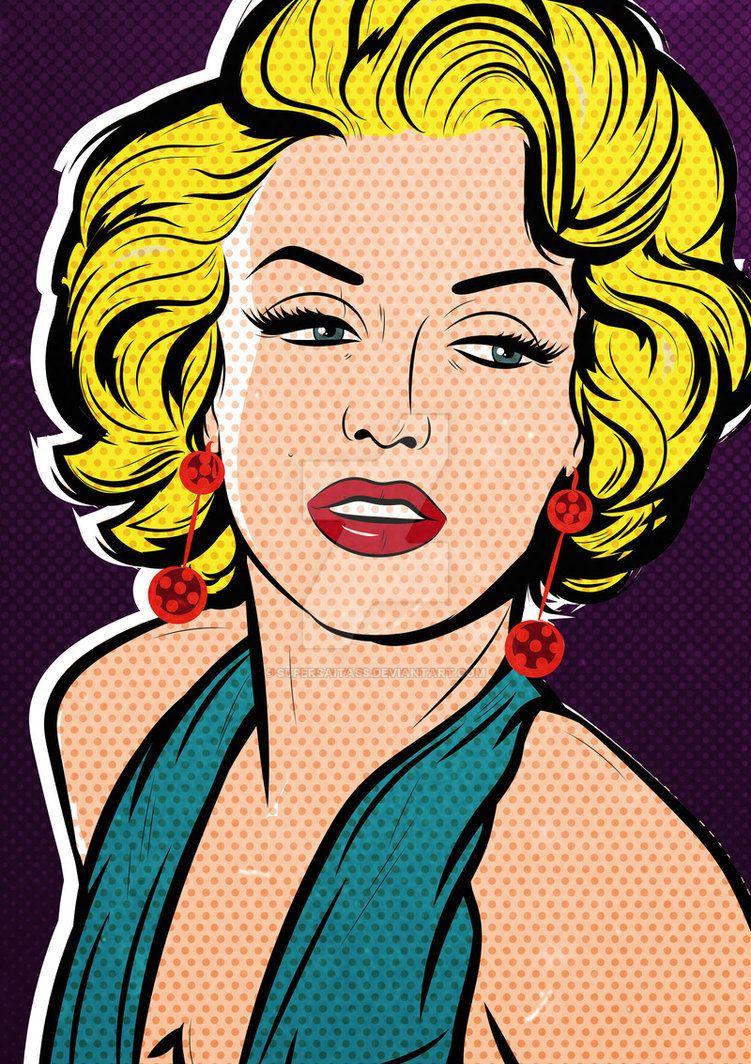 Tribute To Marilyn Monroe By Supersaitass By Supersaitass Arte