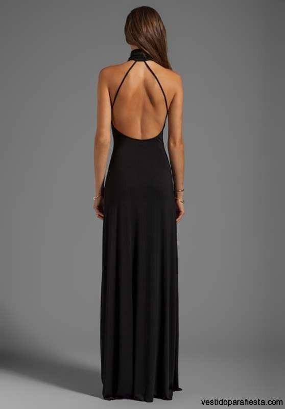 Escotes de espalda de vestidos de fiesta