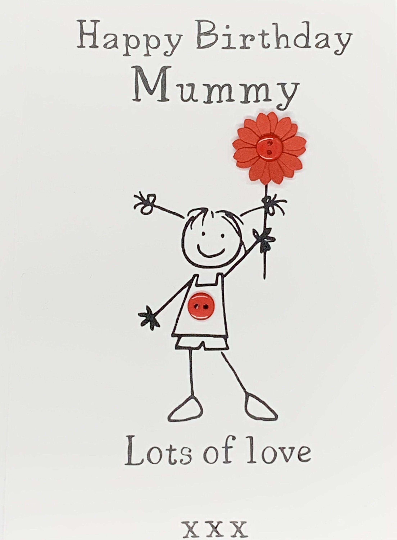 Happy Birthday Mummy Daddy Card Card For Mummy Card For Etsy Happy Birthday Mummy Personalized Birthday Cards Happy Birthday