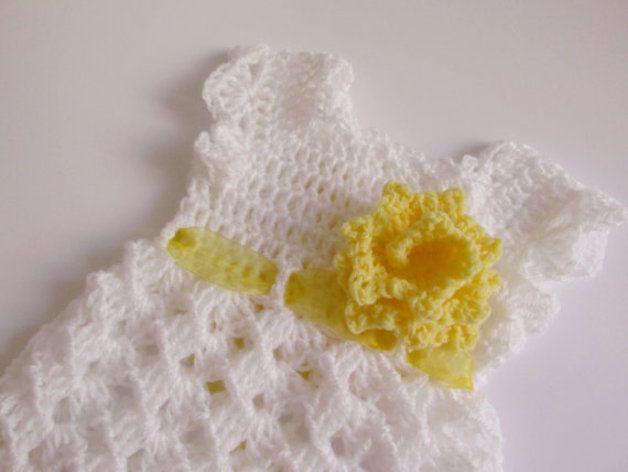 Häkelanleitungen - PDF Baby Kleid ebook -in Englisch geschrieben ...