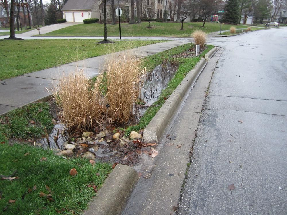 Simple sustainable Stormwater Management | Swales | Pinterest