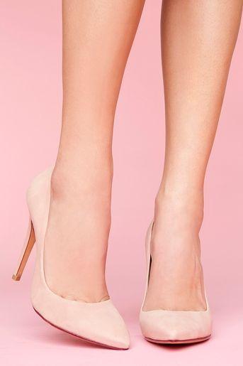 2 Inch Pink Heels