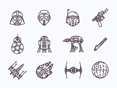 Star Wars Icons Tattoos Pinterest Tatuajes Mangas Tatuajes