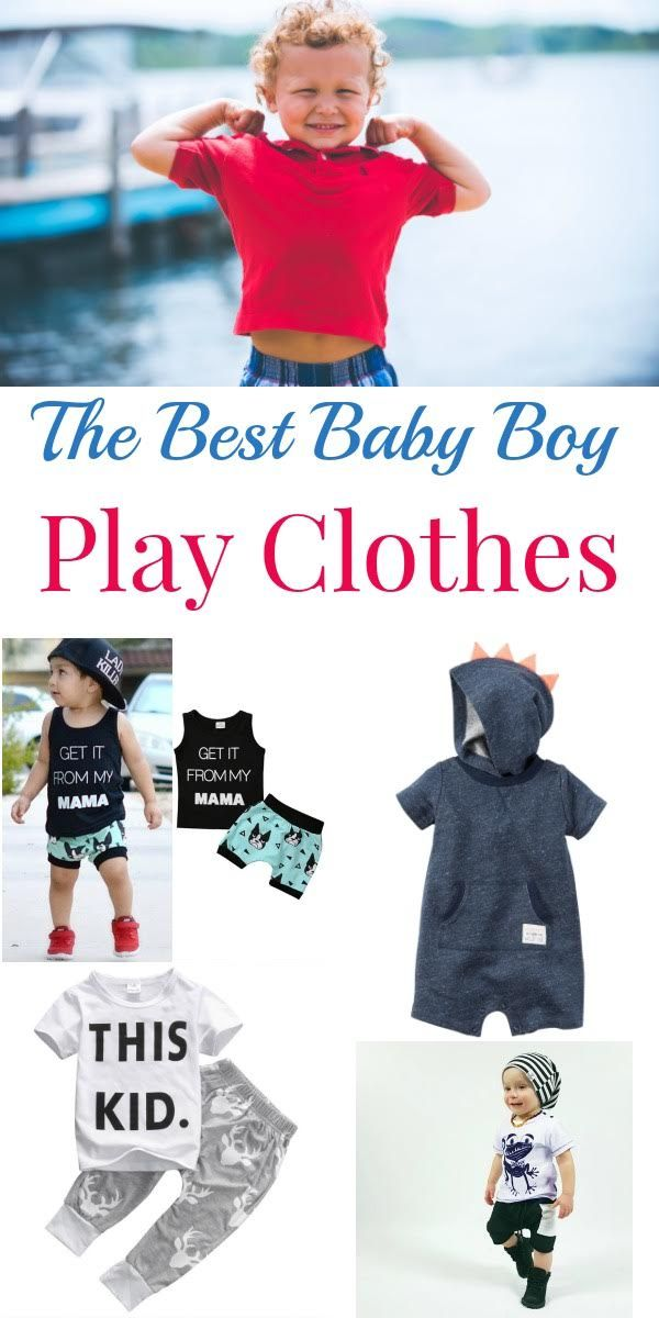The Best Baby Boy Play Clothes   Pinterest