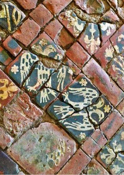 Medieval tiles | Medieval Floor Tiles | Pinterest | Medieval, Roman ...