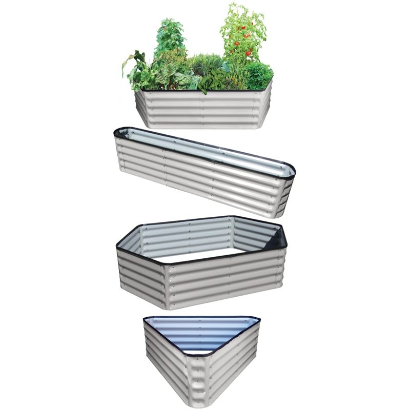 Birdies 400mm Zinc 10 In 1 Modular Raised Garden Bed